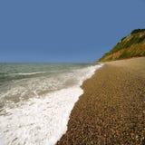 Juraküste England-Devon stockfotos