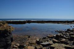 Juraküste und eine perfekte Ansicht stockbild
