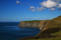 Juraküstenlinie, Dorset, Großbritannien stockbilder