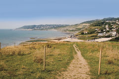 Jurassic coast charmouth dorset Stock Photos