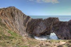 Jurassic coast in Dorset England Stock Photography