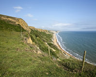 The Jurassic Coast in Dorset Royalty Free Stock Images