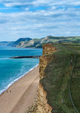 Jurassic coast Dorset UK Royalty Free Stock Image