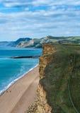 Dorset coastline UK  Royalty Free Stock Image