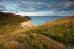 Jurassic coast in Dorset, UK. Stock Images