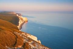 Jurassic coast in Dorset, UK. Stock Image