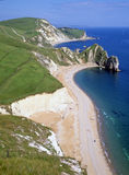 Jurassic Coast at Durdle Dor Dorset England Stock Images