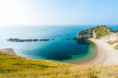 Jurassic Coast. Located in Devon and East Dorset in southern England on the English Channel coast Stock Photography