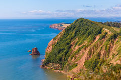 Jurassic Coast in summer Stock Photography