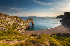 Jurassic Coastline around Durdle Door Royalty Free Stock Image
