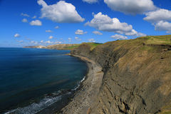 Jurassic Coastline, Dorset, UK. The Jurassic coastline of Dorset, England royalty free stock photography