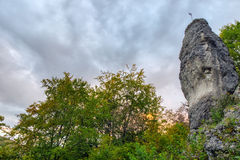 Jurassic Hills of Franconia Royalty Free Stock Image