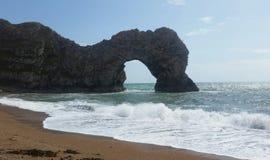 Jurassic kust av Dorset arkivbild