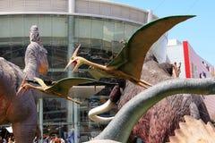 Jurassic Park em Rishon Lezion, Israel imagens de stock royalty free