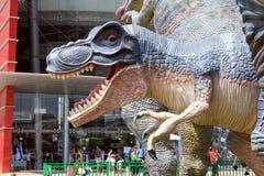 Jurassic Park em Rishon Lezion, Israel fotos de stock
