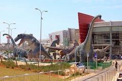 Jurassic Park em Rishon Lezion, Israel fotografia de stock royalty free