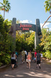 Jurassic Park entrance Royalty Free Stock Photography