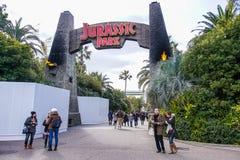 Jurassic Park zon Arkivbild
