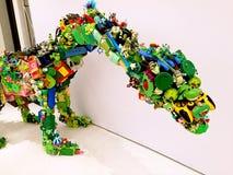 Jurassic plast- @ Sydney Festival royaltyfri foto