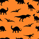 Jurassic world seamless pattern background Stock Images