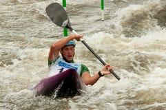 Jure Meglic paddling Stock Image