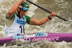 Jure Meglic paddling Stock Photo