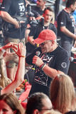 Jurek Owsiak na 2á cerimônia de inauguração do Polônia do festival de Woodstock Imagens de Stock Royalty Free