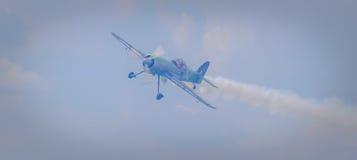 Jurgis Kairys на воздухоплавательной выставке от озера crangasi Бухареста стоковые фотографии rf