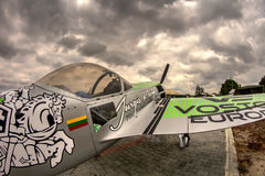Jurgis Kairys Aerobatic Aircraft Royalty-vrije Stock Foto