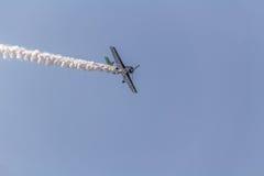 Jurgis Kairys Aerobatic przedstawienie Obraz Stock