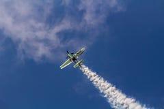 Jurgis Kairys Aerobatic przedstawienie Obrazy Stock
