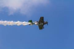 Jurgis Kairys Aerobatic przedstawienie Fotografia Royalty Free
