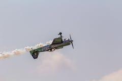 Jurgis Kairys Aerobatic przedstawienie Obraz Royalty Free