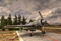 Jurgis Kairys Aerobatic samolot Zdjęcia Royalty Free