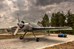 Jurgis Kairys Aerobatic samolot Obrazy Royalty Free