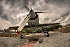 Jurgis Kairys Aerobatic samolot Fotografia Stock