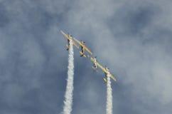 Jurgis Kairys and Iacarii acrobati team Royalty Free Stock Photography