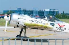 Jurgis Kairys On Runway Stock Images