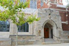 Juridisk fakultet Yale University, CT, USA Arkivbild