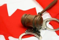 Jurisdicción canadiense foto de archivo