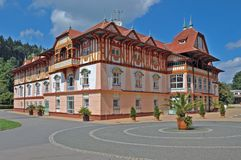 Jurkovic hus Arkivfoton