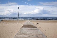 Jurmala Beach Riga Royalty Free Stock Photography