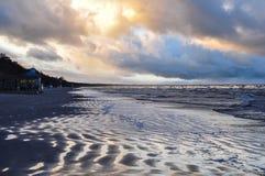 Jurmala. Latvia. Baltic Sea. Stock Images