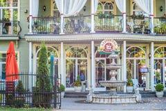 Jurmala luksusu restauracja obrazy royalty free