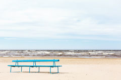 Jurmala strand Arkivfoto