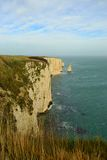 Jurrasic coast. View to Old Harry Rocks Stock Images