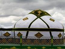 Jurta Kazakstan Obrazy Royalty Free