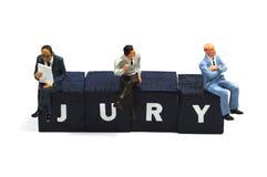 Jury stock fotografie