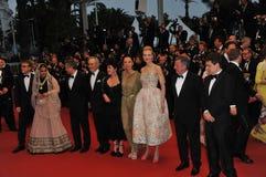 Jury de Cannes image libre de droits