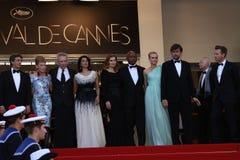 Jury members Diane Kruger, Ewan McGregor, Hiam Abb Royalty Free Stock Image